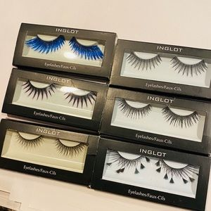 FANTASY SAMPLE PACK OF 6 INGLOT LASHES